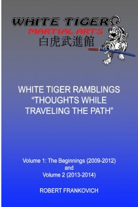White Tiger Rambling Cover for Kindle